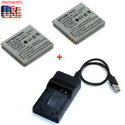 Battery / Charger For Nb-4l Canon Ixus 30 40 50 55 60 65 70 75 Is 80 Is 100 Is