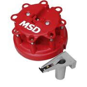 Msd Ignition 8450 Distributor Cap And Rotor Kit Fits With Ford Duraspark Engines