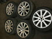 10-12 Land Range Rover Hts Sc Alloy Wheel Rim 8.5jx20 Eh2 Is58 W/ Spare Tire |