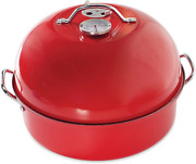 Nordic Ware Stovetop Kettle Smoker, One, Red