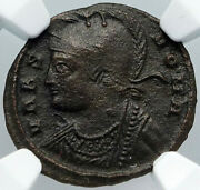 Constantine I The Great Romulus Remus Wolf Rome Ancient Roman Coin Ngc I88716