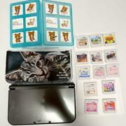 3ds Ll Black Cat Cover 13 3ds Software With Cassette Case