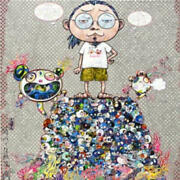 Takashi Murakami Philosophy Space Limited To 300 Editions With Edition Number
