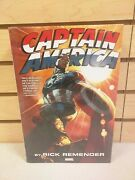 Captain America By Rick Remender Omnibus Hardcover - New And Sealed Hc Dm Variant