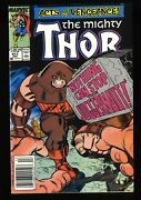 Thor 411 Vf/nm 9.0 Newsstand Variant 1st New Warriors