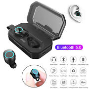 Bluetooth 5.0 Earphone Wireless Stereo Headset Twins Earbuds Noise Reduction