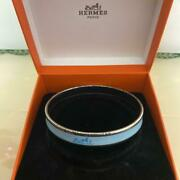 Hermes Bangle Carriage Currysch Turquoise Free Shipping No.4384