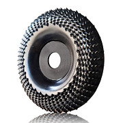 """Oba Grinder Wheel Disc 4 Inch Wood Shaping Wheel, Angle Grinders With 5/8"""" Arbor"""