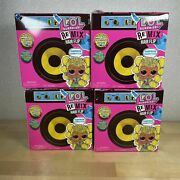 Lot Of 4 L.o.l. Surprise Remix Hair Flip Dolls - Brand New And Sealed Lol