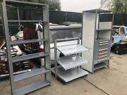 Equipto Shelving Parts Cabinets V Grip Tool Boxes Garage Storage
