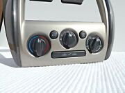 2002-03 Mazda Protege5 A/c Temp Climate Control Hazard Switch And Bezel-vents Oem