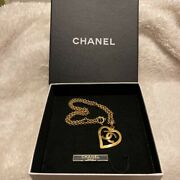 Cc Mark Heart Necklace Vintage Accessories Goods From Japanese K11215