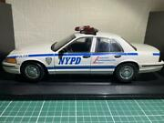 Auto Art 1 18 Ford Crown Victoria Nypd Police Car Free Shipping No.7201