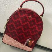 New Kate Spade Disney Tom And Jerry Backpack Popular Red Sold Out