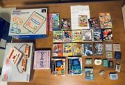 Including Unused Items Limited Game Boy Color Family Computer Nes Software