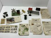 American Flyer 759 Bell Danger Crossing Signal And Parts Lot