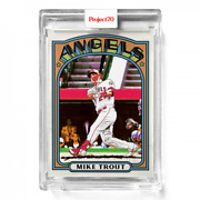 Topps Project 70 Card 533 1972 Mike Trout By Matt Mccormick Presale 533