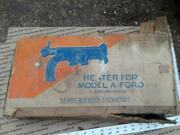 Ford Model A Sears Exhaust Heater Manifold Roadster Coupe Sedan Trog 28 31 30 B