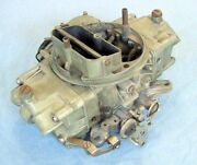 Holley Carb List 3310 4 Barrel 3878261-eh Date Code 711 Bbc 396 Chevelle