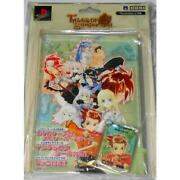 New Ps2 Memory Card Tales Of Symphonia Case With Map Seal