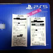 New Unopened Ps5 Playstation5 Main Unit With Disk Drive Cfi1000a01 1 Year Manu