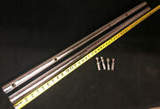 Vintage Delta Rockwell 10andrdquo Unisaw 34-450 44andrdquo Rip Fence Rail Set W/mounting Bolts