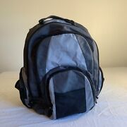 Targus Xl Notebook Backpack Bag 17andrdquo Laptop Padded Excellent Durable Black/gray