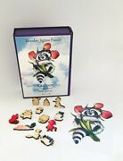 Famous Wooden Whimsy Jigsaw Puzzles For Adults And Kids - 200 Pieces- Raccoon