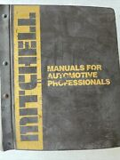 Mitchell Manuals Emission Control Service And Repair 1982-1985 Domestic Cars