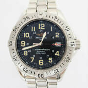 Breitling Men's Watches Super Ocean A17340 Automatic Winding Blue No.4585