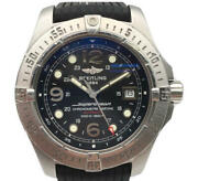 Breitling A17390 Aeromarine Super Ocean Automatic Winding Mens Date No.4441