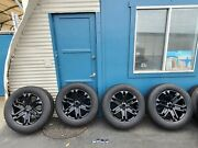 New 2021 20 Ford F150 / Expedition Factory Oem Platinum Fx-4 Black Wheels Rims