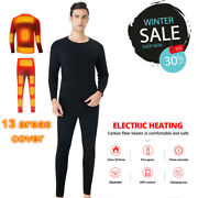 Winter Heated Underwear Suit App Control Usb Battery Powered Thermal Suit Men