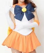 Pretty Soldier Sailor Moon Sailor Venus Style Cosplay Wigs2you Costume Wig