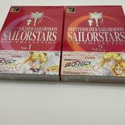 Sailor Moon Sailor Stars Dvd Collection Vol1 And 2