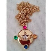 Sold Out Past Premium Sebon Star Sailor Moon Makeover Brooch Gold X Pink