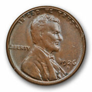 1926 S Lincoln Wheat Cent Uncirculated Mint State Brown Bn Better Date 5681
