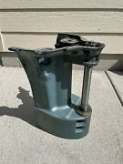 1964 Johnson Evinrude Front Exhaust Housing Cover 90hp V4 310750
