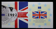 1992 United Kingdom Great Britain Brilliant Uncirculated Coin Collection Ms116