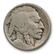 1913 S Type Two Buffalo Head Nickel Very Good Vg Us Key Date Coin 5711
