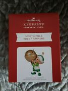 Hallmark 2021 Koc Event Exclusive North Pole Tree Trimmers Repaint Sold Out