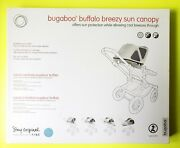 Discontinued Bugaboo Buffalo Breezy Sun Canopy In Ice Blue- Sold Out Color