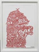 The Key To My Heart Mr. Doodle Autographed Poster Genuine Guarantee