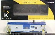 ✅k-line By Lionel Csx Smoking Bay Window Caboose For Diesel Engine O Scale