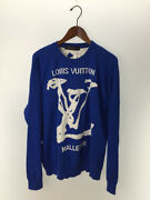 Louis Vuitton 2020ss Scribble Intersha Crew Neck Sweater Thinness No.4468