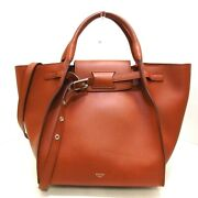 Auth Celine Big Bag Small With Long Strap 183313a4t.04lu Tan Womens Tote Bag