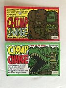 Chimpanzee And  Crocodile Instant Lottery Tickets, Cute, No Gambling Value