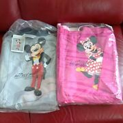 Disney Mickey Minnie Blanket Live Action Old Face