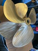 Michigan Propeller 32 X 30 Shaft 3 Blade Right And Left 321392 321393 Used /