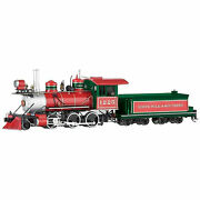 Bachmann Trains 25227 On30 Scale Christmas 2-6-0 Locomotive With Coal Tender